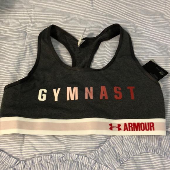 c3aadaf2c972 Under Armour - USA Gymnastics Sports Bra